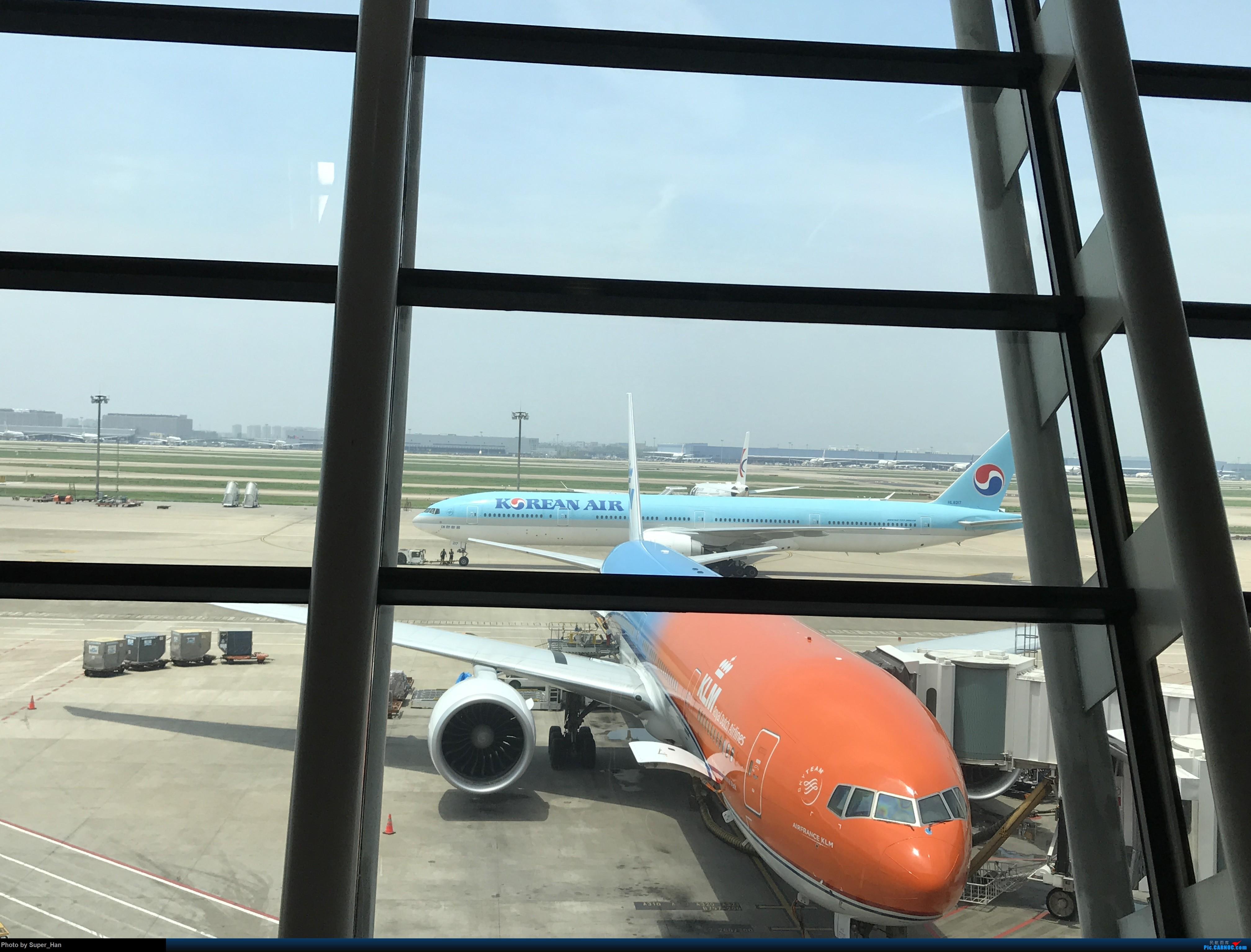 Re:[原创]PVG-AMS 第一次走进阿姆斯特丹史基浦机场! BOEING 777-300ER PH-BVA 中国上海浦东国际机场