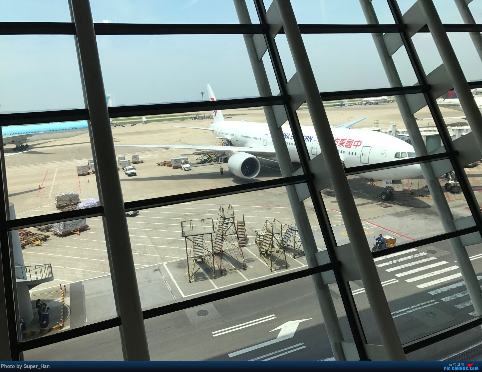 Re:PVG-AMS 第一次走进阿姆斯特丹史基浦机场! BOEING 777-300ER B-7868 中国上海浦东国际机场
