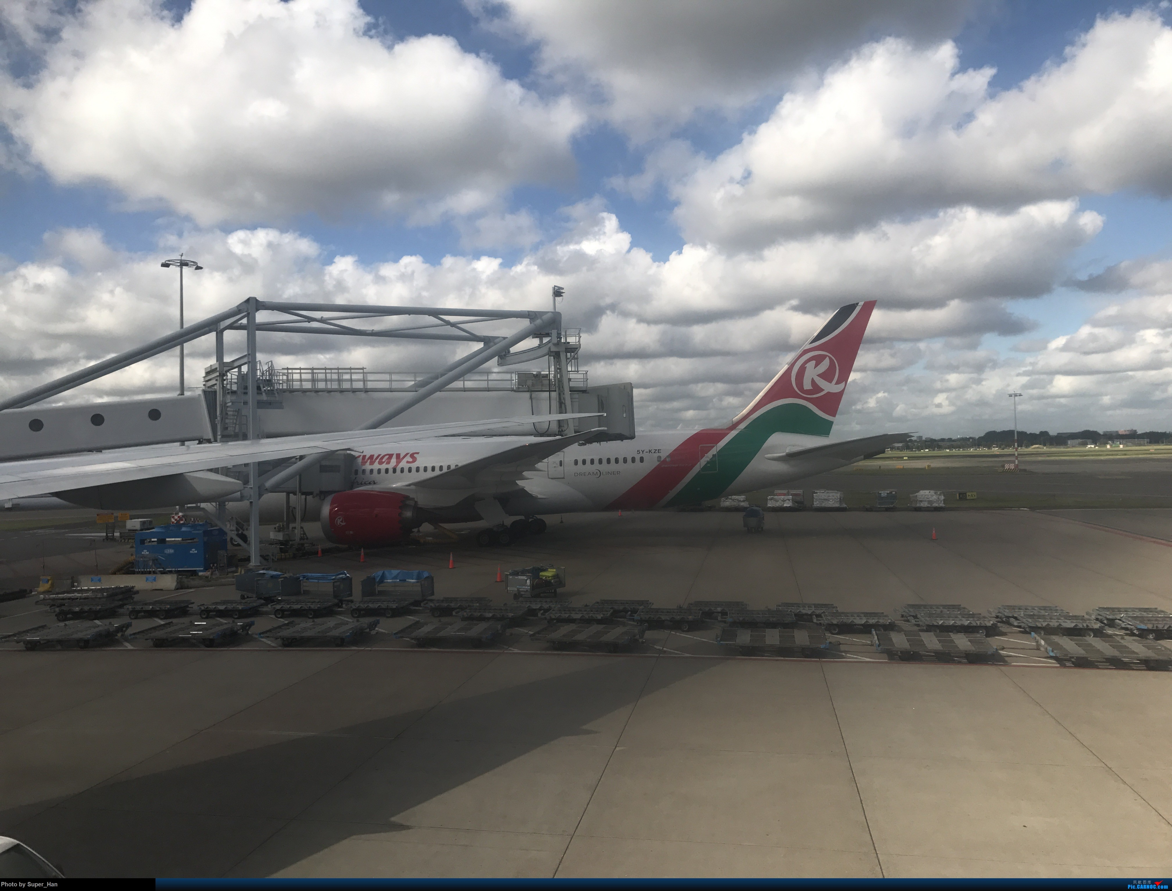 Re:[原创]PVG-AMS 第一次走进阿姆斯特丹史基浦机场! BOEING 787-9 5Y-KZE 荷兰阿姆斯特丹史基浦机场