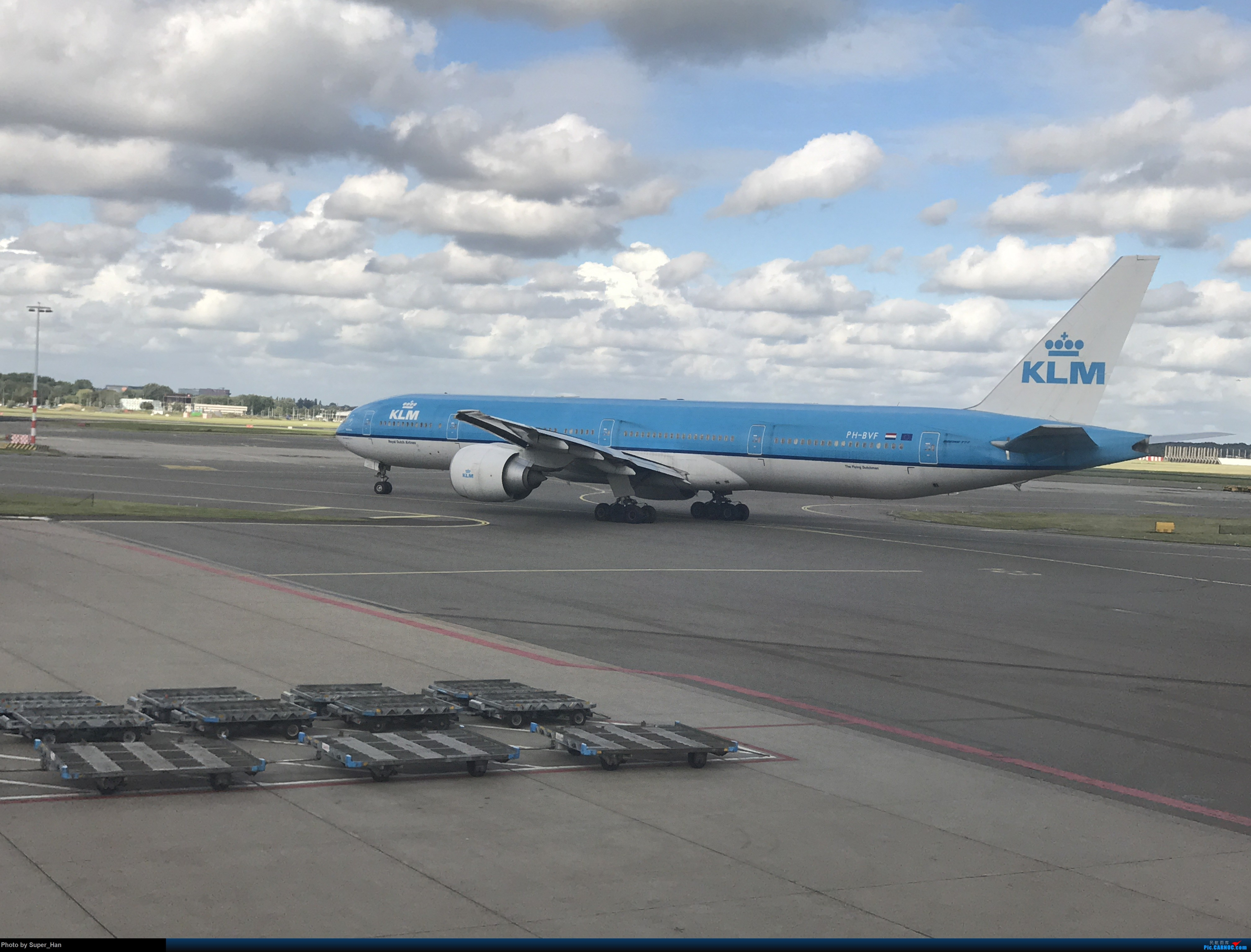 Re:PVG-AMS 第一次走进阿姆斯特丹史基浦机场! BOEING 777-300ER PH-BVF 荷兰阿姆斯特丹史基浦机场