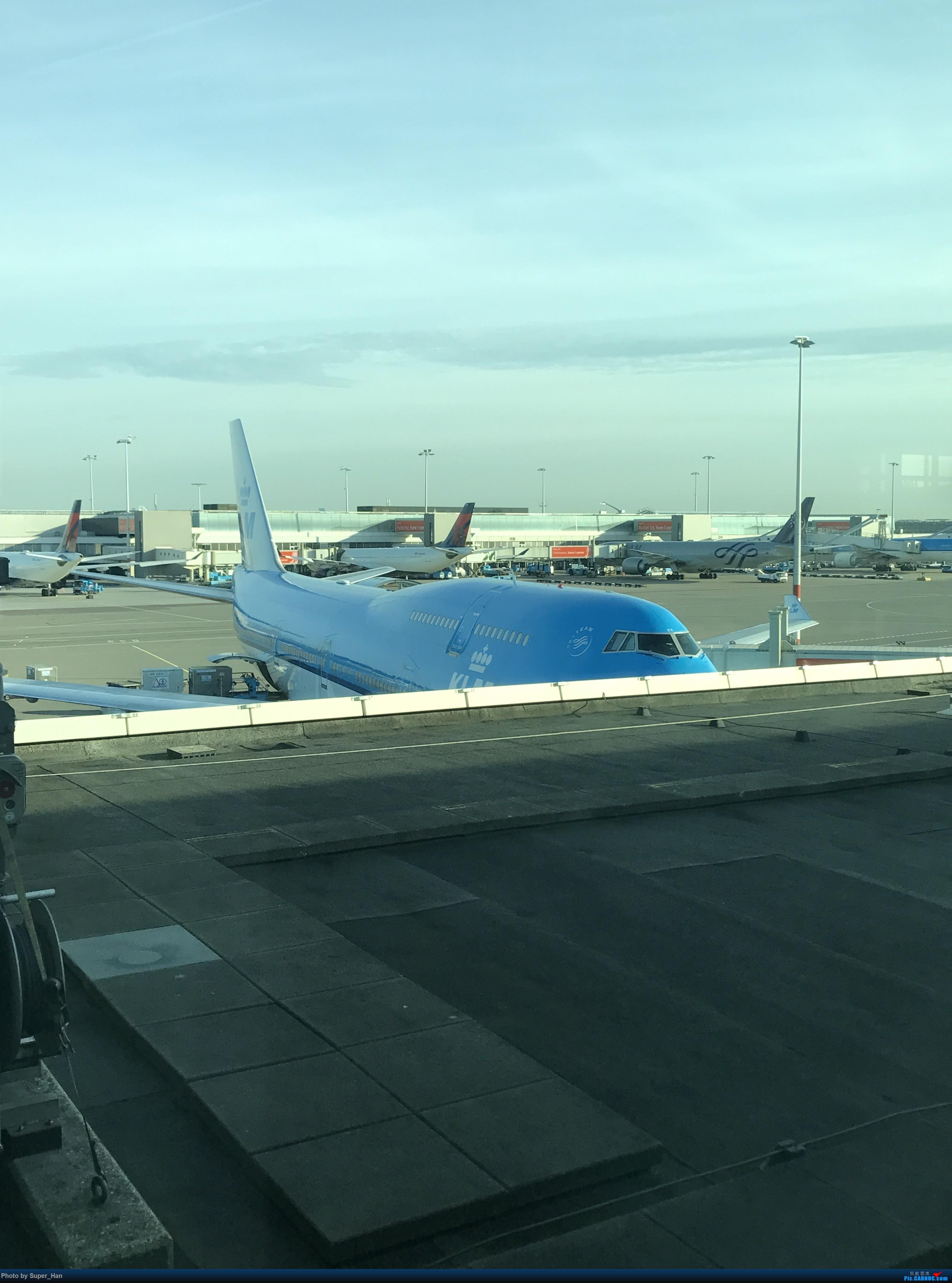 Re:[原创]离开AMS BOEING 747-400 PH-BFS 荷兰阿姆斯特丹史基浦机场
