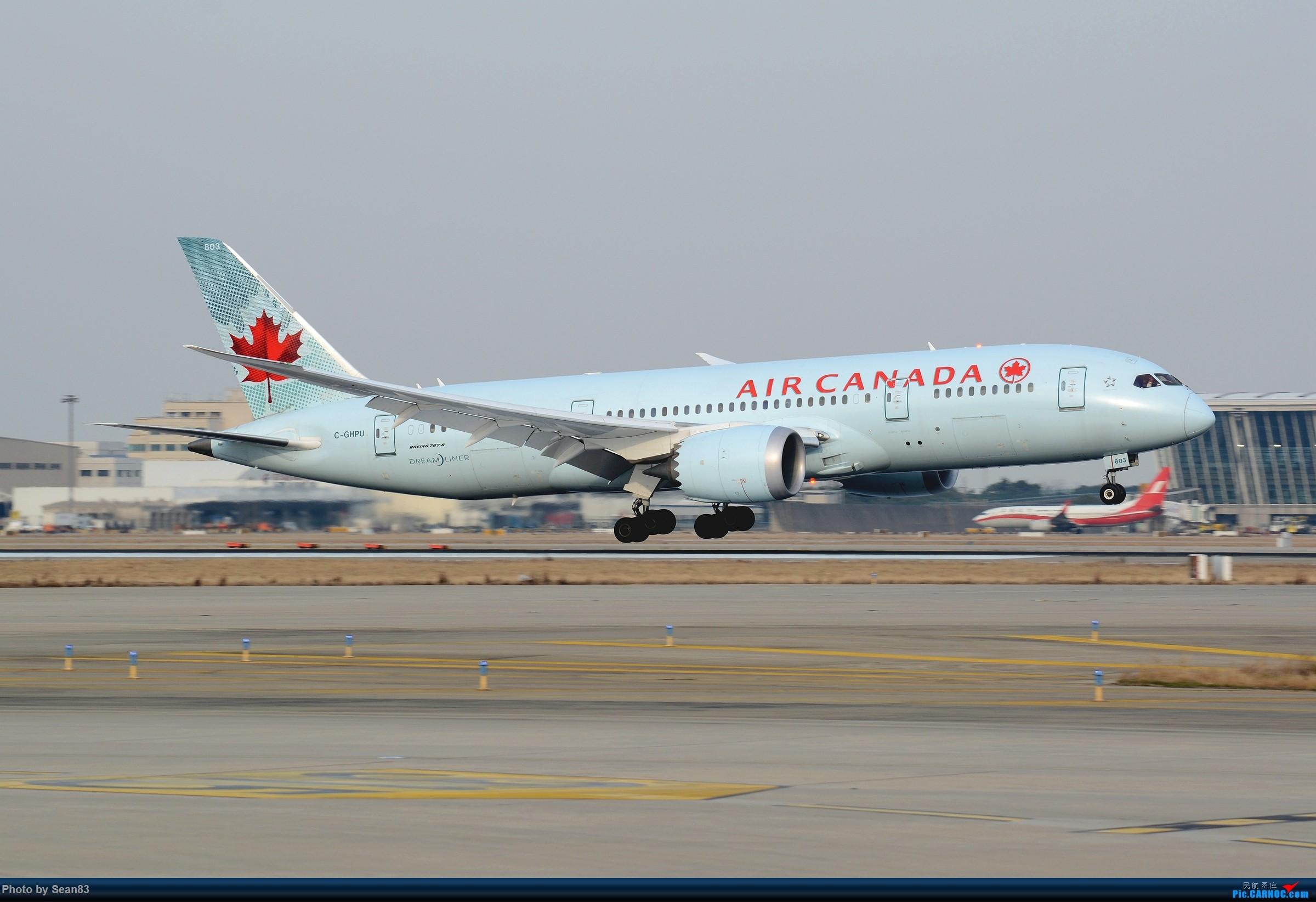 [原创](PVG)拍一少一的薄荷加航 BOEING 787-8 C-GHPU 中国上海浦东国际机场