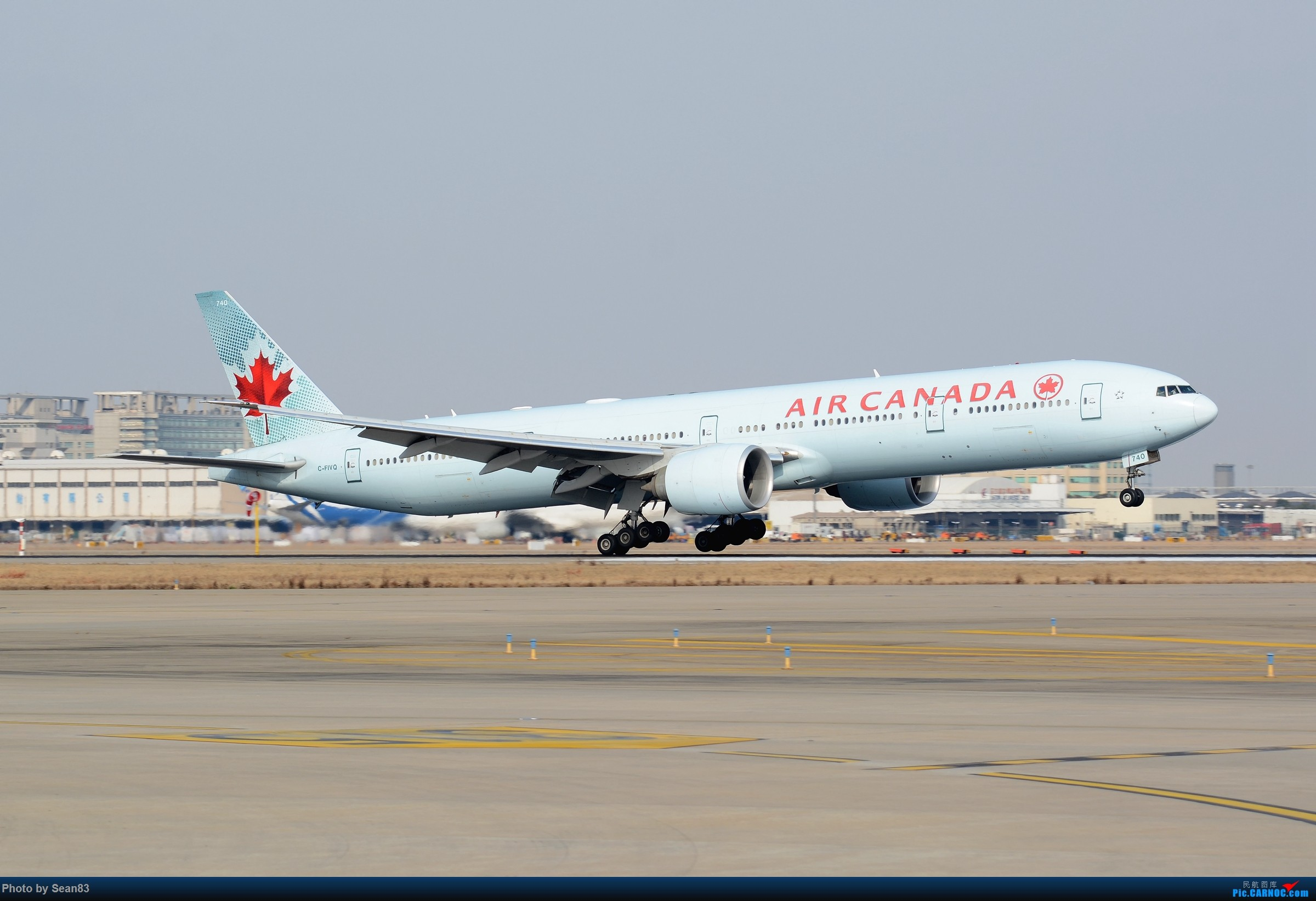 Re:[原创](PVG)拍一少一的薄荷加航 BOEING 777-300ER C-FIVQ 中国上海浦东国际机场