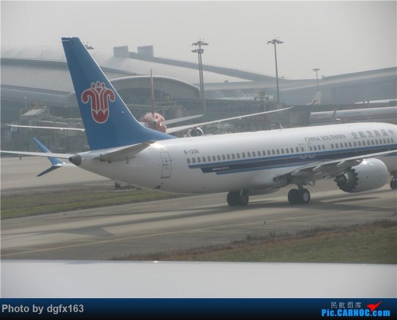 Re:[原创]【dgfx163的游记(22)】中国南方航空 A330-300(33W) CZ384 迪拜DXB-广州CAN 回程380的联程大计,33W长距离航班论坛首发! BOEING 737MAX-8 B-1206 中国广州白云国际机场
