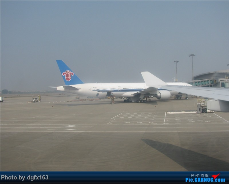 Re:[原创]【dgfx163的游记(22)】中国南方航空 A330-300(33W) CZ384 迪拜DXB-广州CAN 回程380的联程大计,33W长距离航班论坛首发! BOEING 777-300ER B-2007 中国广州白云国际机场