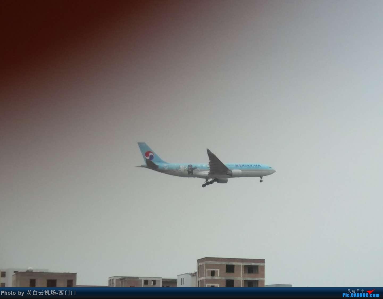 Re:[原创]我的拍飞机心情(广州) AIRBUS A330-300 不明 中国广州白云国际机场