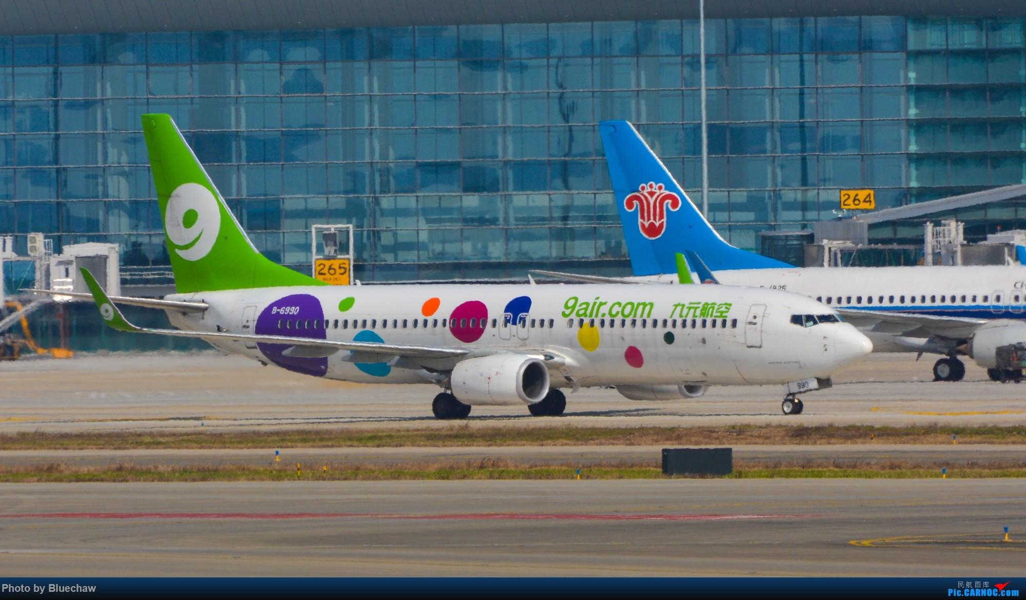 Re:[原创]二月白云拍机,酷航788等 BOEING 737-800 B-6990 中国广州白云国际机场