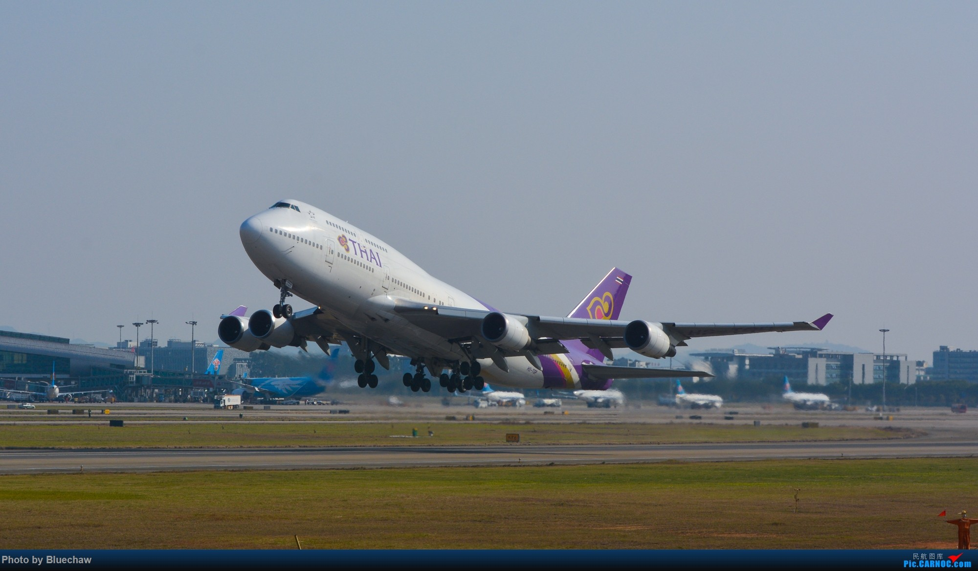 Re:[原创]二月白云拍机,酷航788等 BOEING 747-400 HS-TGP 中国广州白云国际机场
