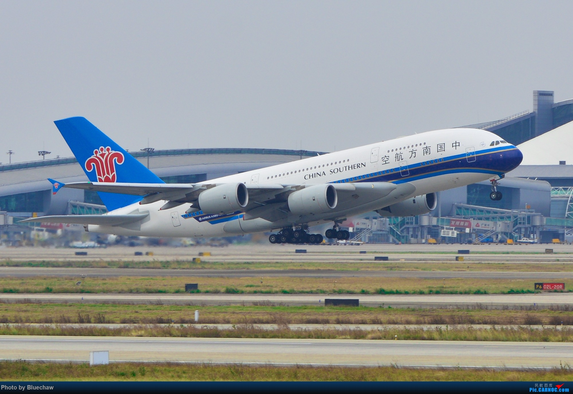 Re:[原创]二月白云拍机,酷航788等 AIRBUS A380 B-6137 中国广州白云国际机场