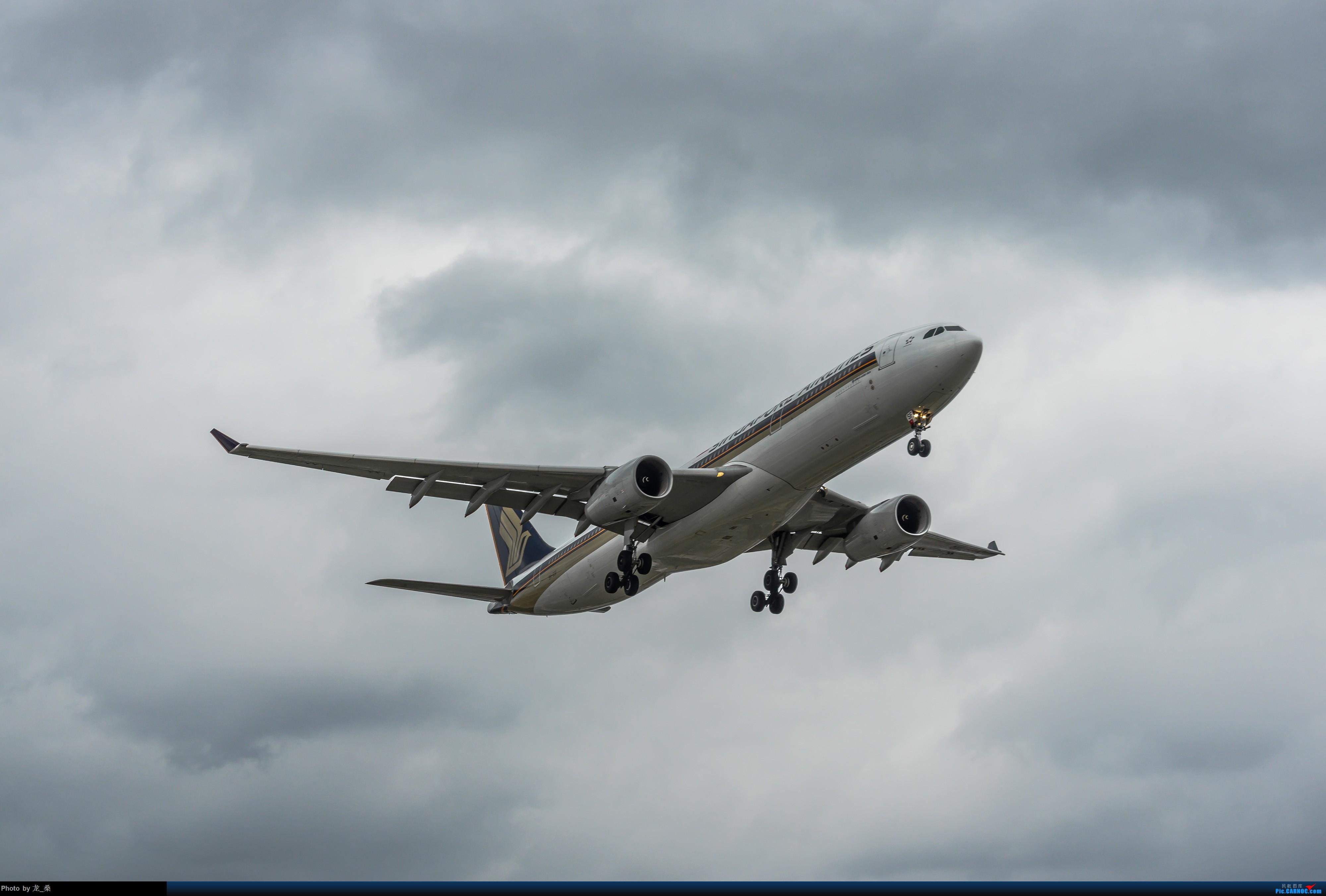 [原创]一图流 台风天的进近 AIRBUS A330-300 9V-SSF 中国广州白云国际机场