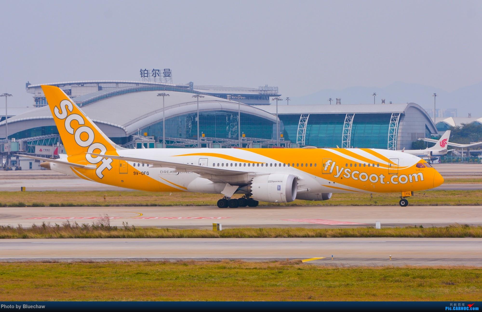[原创]二月白云拍机,酷航788等 787-800 9V-OFG 中国广州白云国际机场