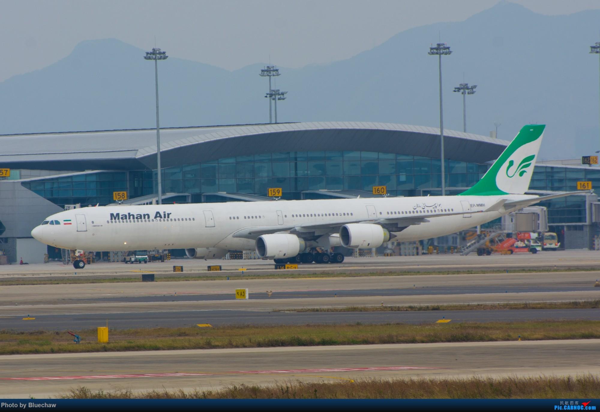 Re:[原创]二月白云拍机,酷航788等 AIRBUS A340-600 EP-MMH 中国广州白云国际机场