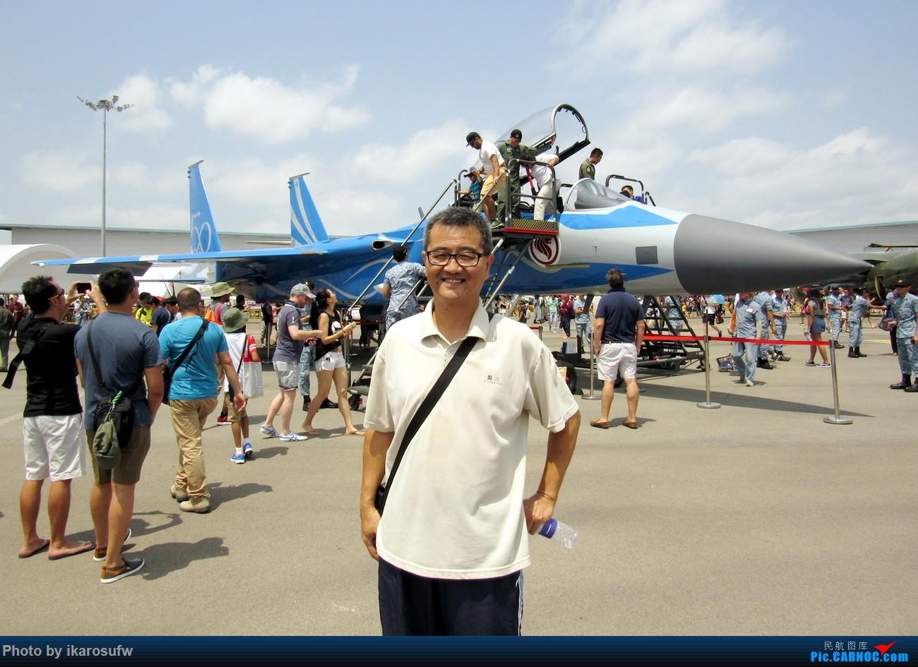 [原创]2018新加坡国际航空展 直奔F22 F35真家伙