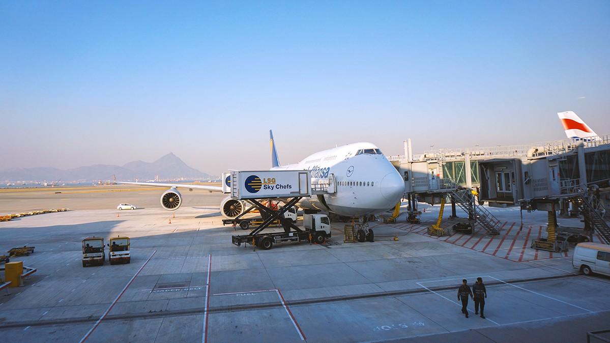 Re: [原创]【 寰球十万八千里 | 下集 | 午前曳航 】 BOEING 747-8I D-ABYQ 中国香港国际机场