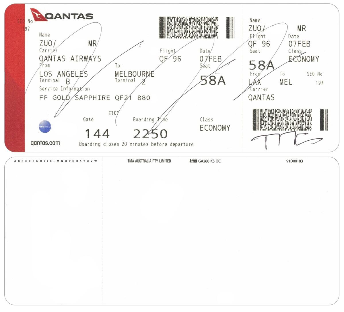 Re: [原创]【 半球冬夏·洛城快达 | 袋鼠全新 789 | 丛林流浪号·直航 LA 】 BOEING 787-9 VH-ZNB 空中