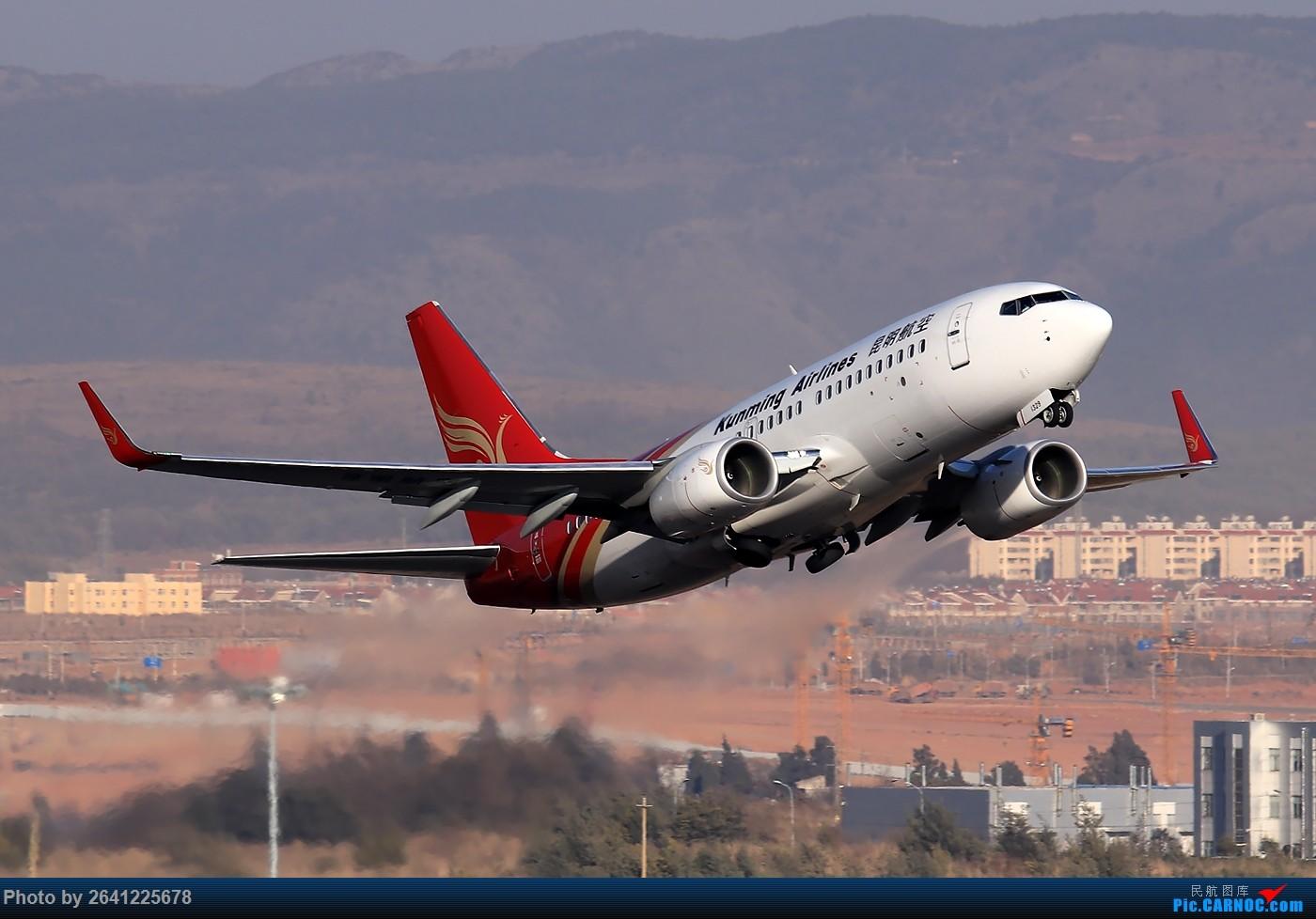 [原创]【KMG】小周游记第6集拍机贴 BOEING 737-700 B-1329 中国昆明长水国际机场