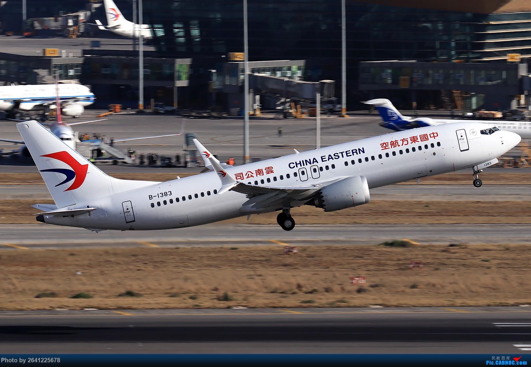 Re:[原创]【KMG】小周游记第6集拍机贴 BOEING 737MAX-8 B-1383 中国昆明长水国际机场