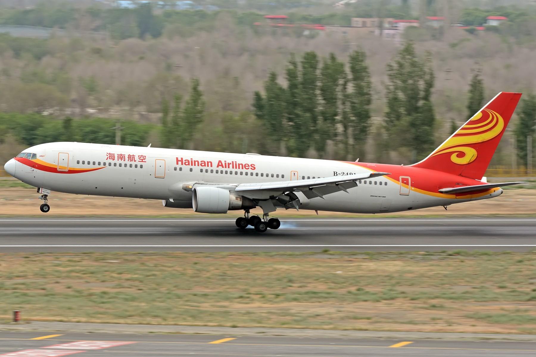 [原创]【一图党】擦······烟 BOEING 767-300ER B-2491 中国乌鲁木齐地窝堡国际机场
