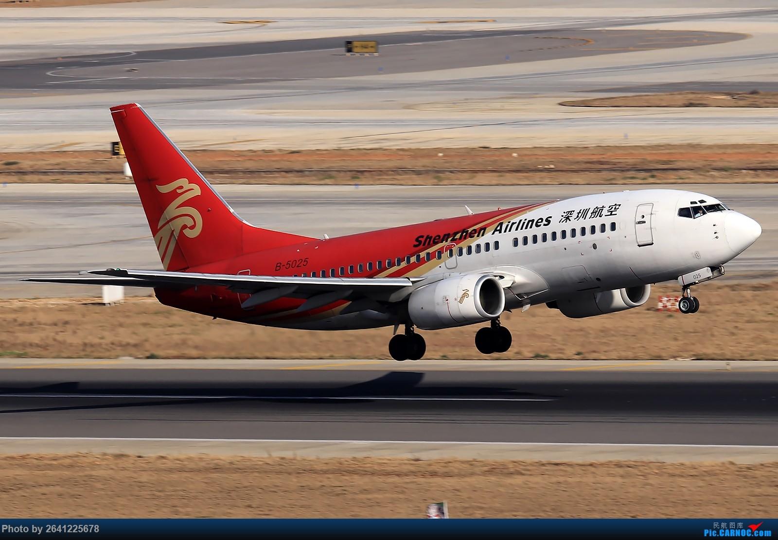 Re:【KMG】小周游记第6集拍机贴 BOEING 737-700 B-5025 中国昆明长水国际机场