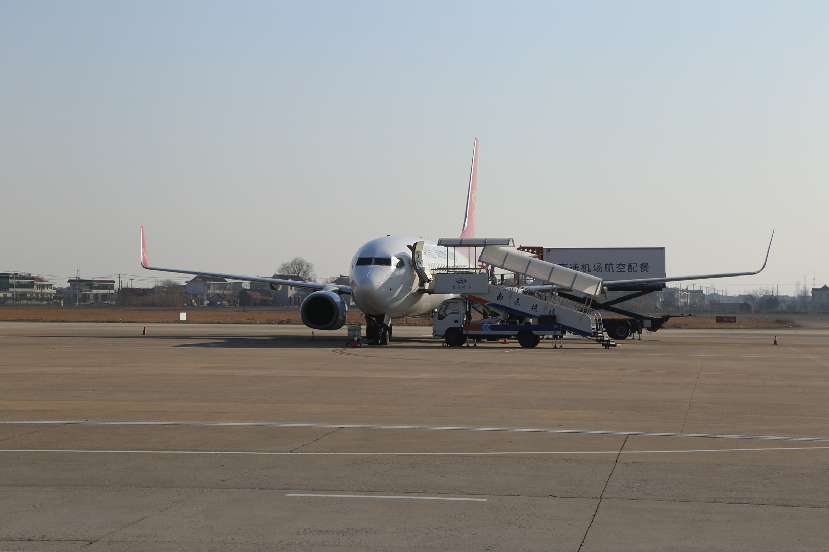 Re:[原创]白云之城——广州行记(南通兴东ZSNT/NTG—广州白云ZGGG/CAN—上海虹桥ZSSS/SHA) BOEING 737-800 B-5413 中国南通兴东机场