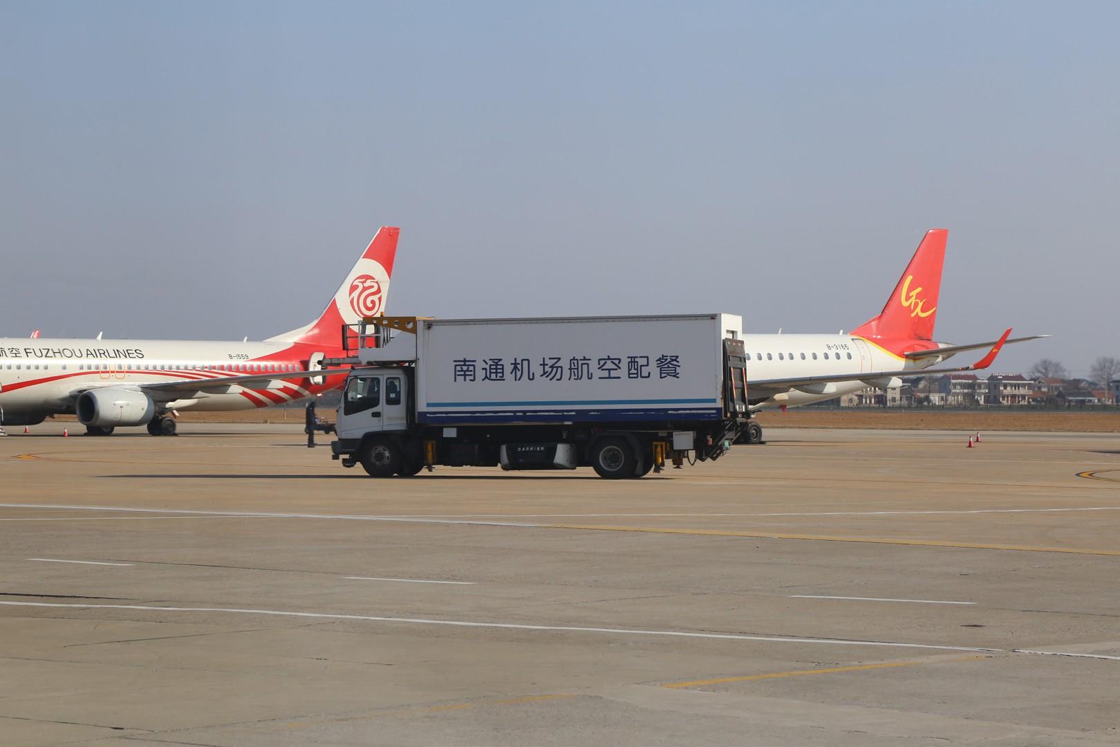 Re:[原创]白云之城——广州行记(南通兴东ZSNT/NTG—广州白云ZGGG/CAN—上海虹桥ZSSS/SHA)    中国南通兴东机场