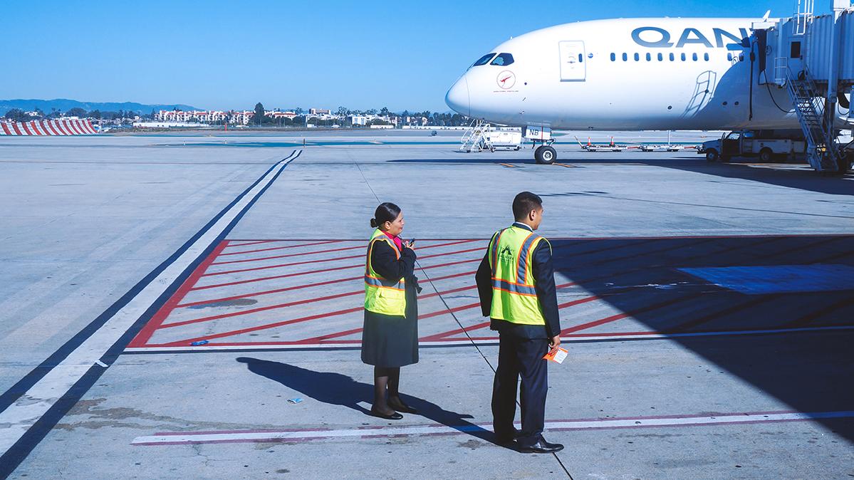 Re:【 半球冬夏·洛城快达 | 袋鼠全新 789 | 丛林流浪号·直航 LA 】 BOEING 787-9 VH-ZNB 美国洛杉矶机场