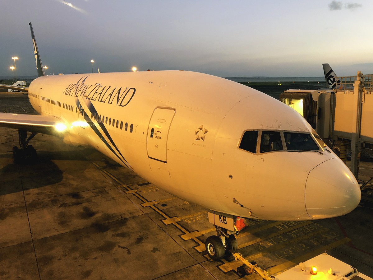 [一图]新西兰航空B777-200 BOEING 777-200  新西兰奥克兰机场