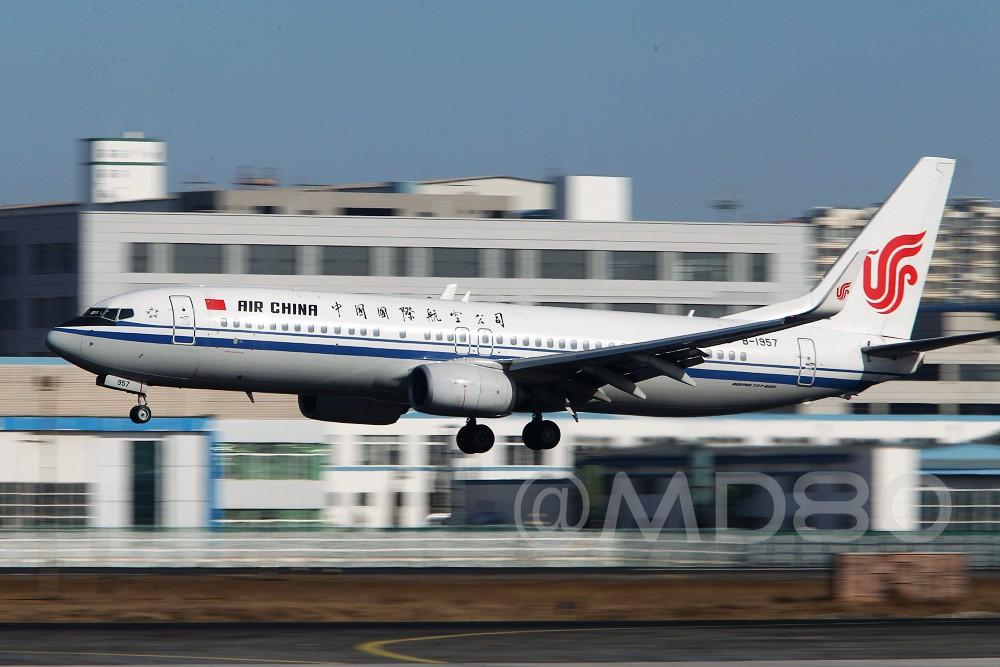 Re:[原创][DLC场外] 周末 BOEING 737-800 B-1957 中国大连国际机场