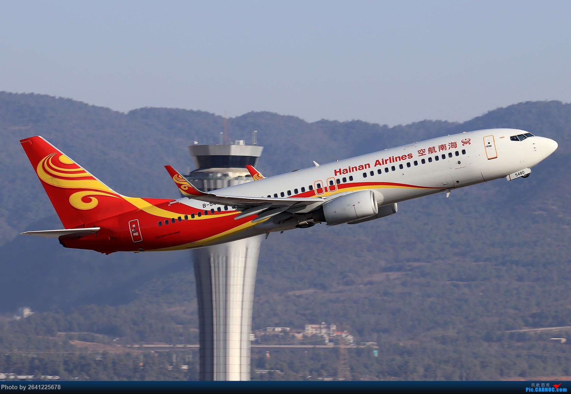 Re:[原创]【KMG】小周游记第6集拍机贴 BOEING 737-800 B-5480 中国昆明长水国际机场