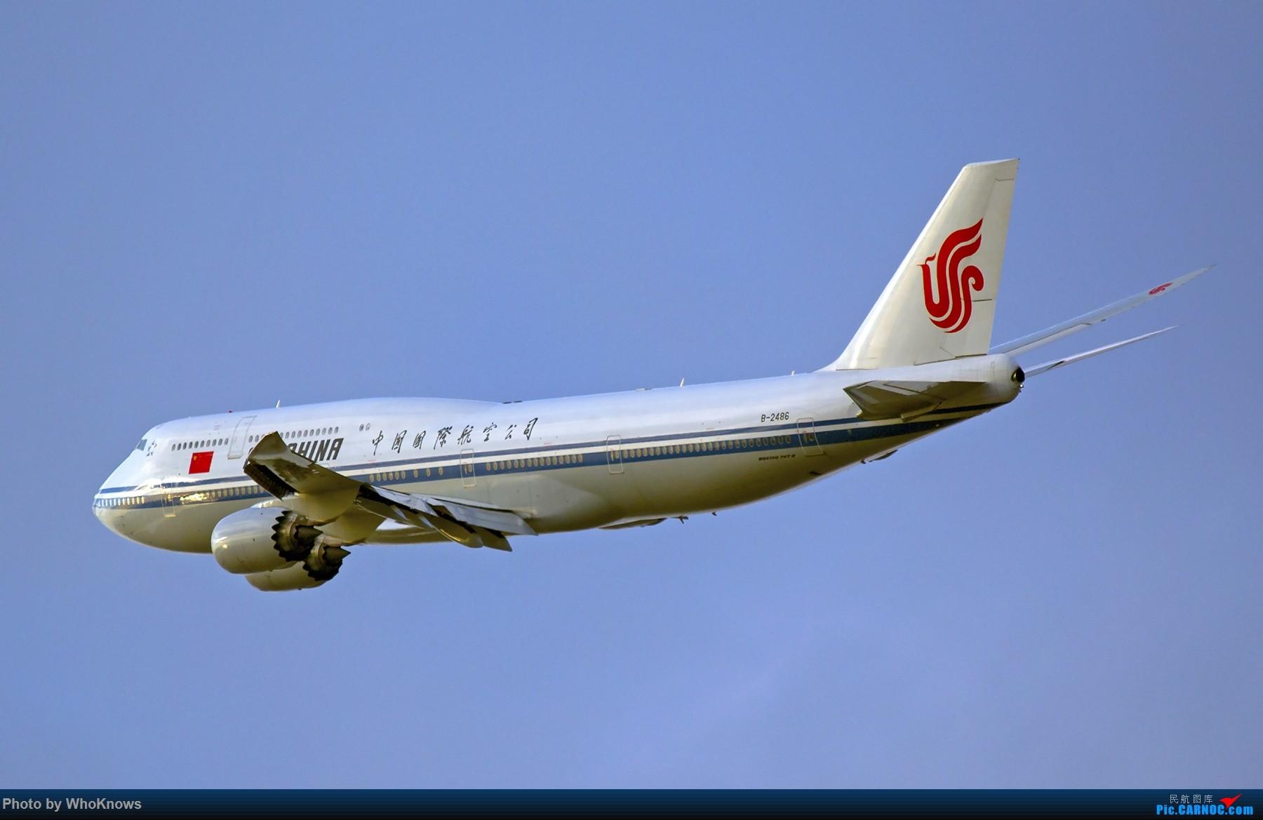 [原创]鸡年收官拍了 BOEING 747-8I B-2486 美国纽约约翰·菲茨杰拉德·肯尼迪国际机场