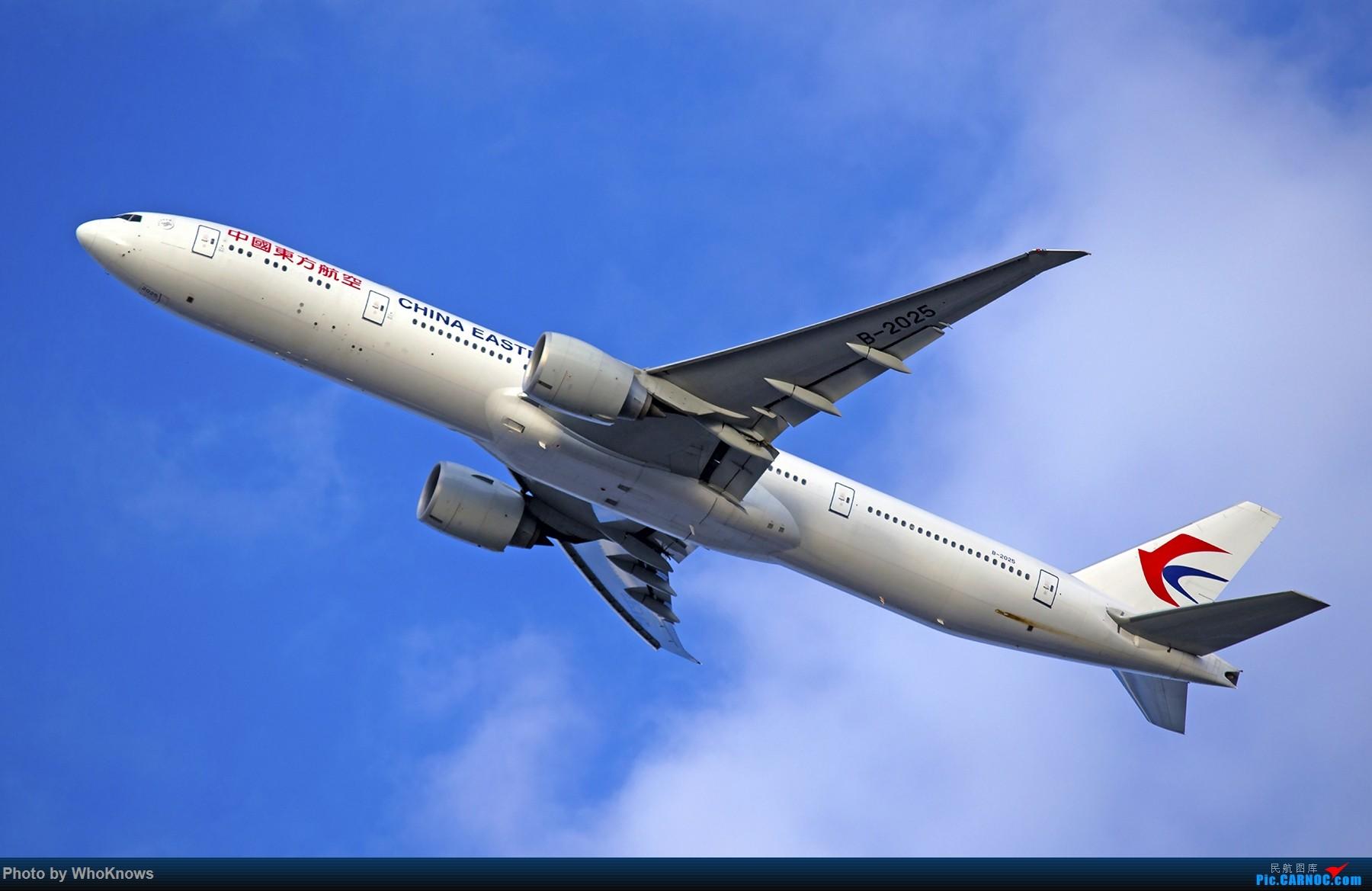 Re:鸡年收官拍了 BOEING 777-300ER B-2025 美国纽约约翰·菲茨杰拉德·肯尼迪国际机场