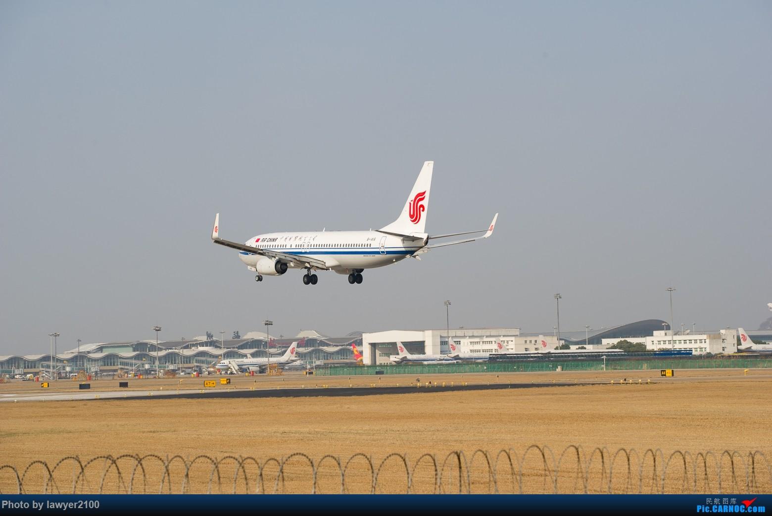 Re:[原创]HGH---农历鸡年最后一次拍机预热帖 BOEING 737-800 B-1416 中国杭州萧山国际机场