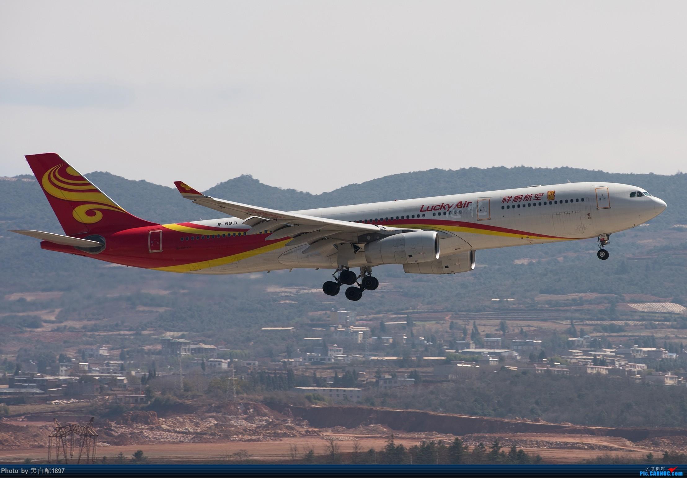 Re:鸡年收官图第二版 AIRBUS A330-300 B-5971 中国昆明长水国际机场