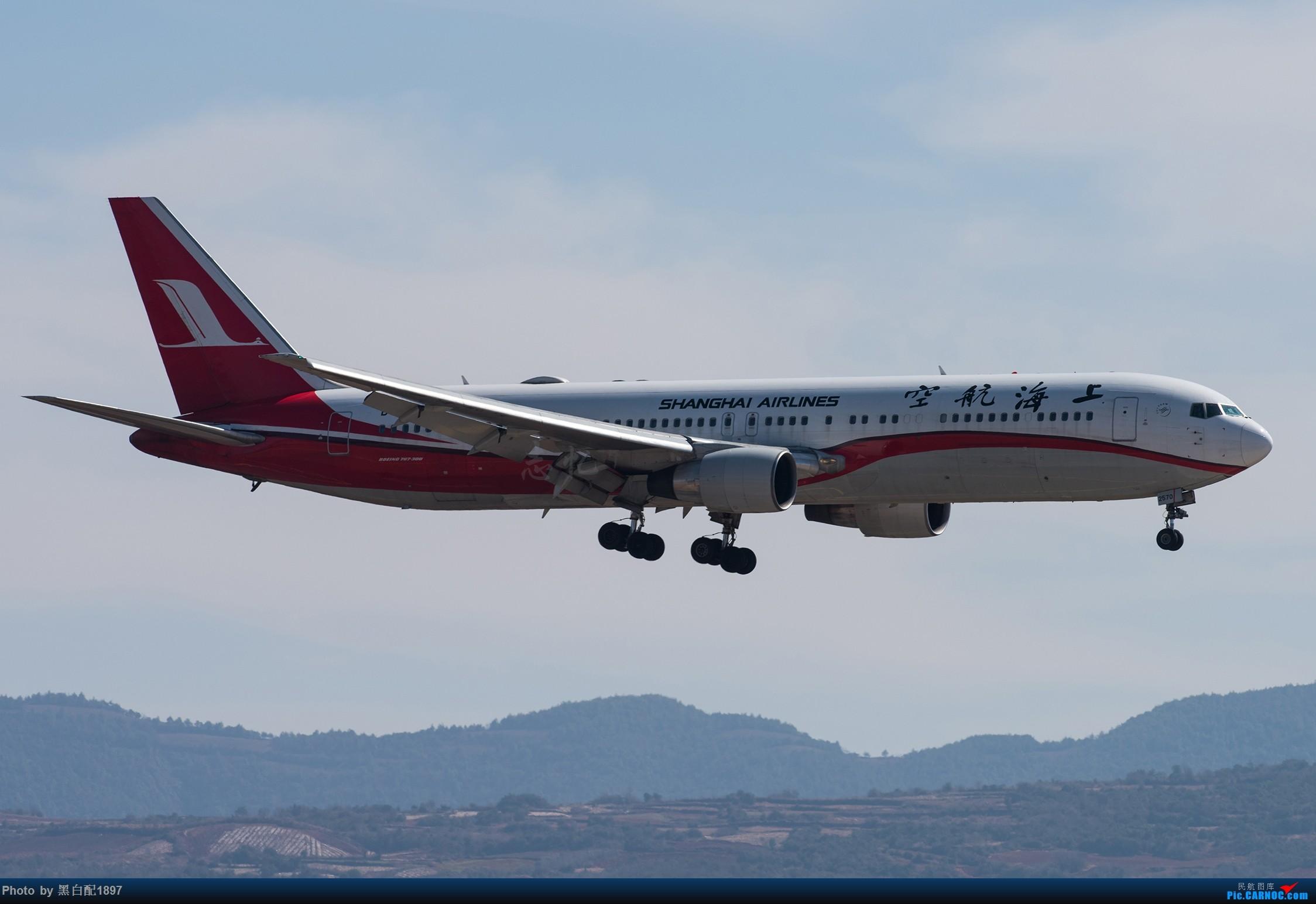 Re:[原创]鸡年收官图第二版 BOEING 767-300 B-2570 中国昆明长水国际机场