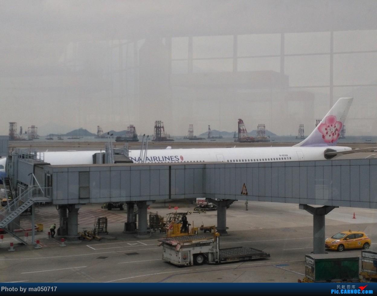 Re:[原创]【CurryMa游记1】中华航空CI910 香港-台北桃园 A330-300 AIRBUS A330-300  中国香港国际机场