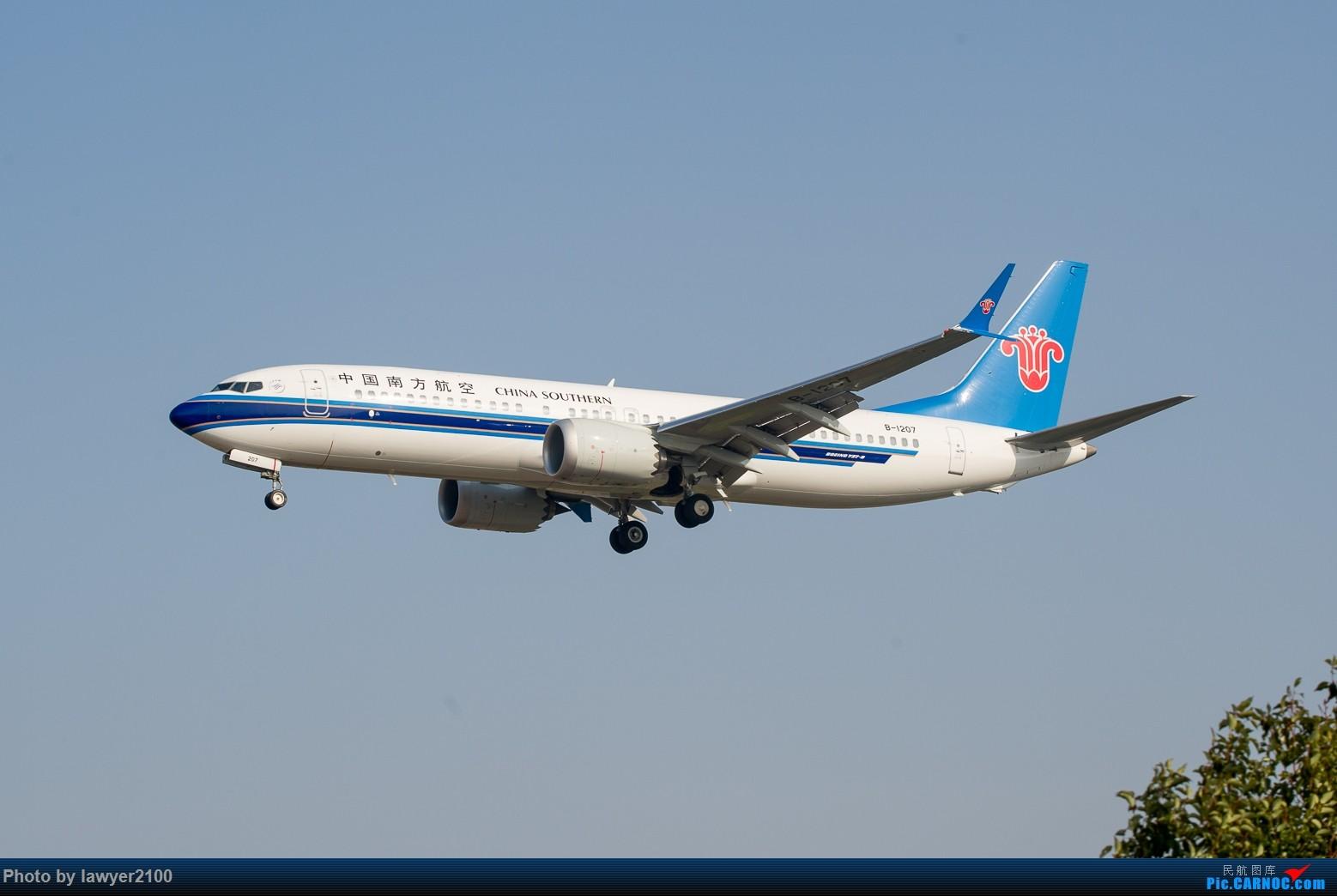 [原创]HGH-----鸡年拍机收官战 BOEING 737MAX-8 B-1207 中国杭州萧山国际机场