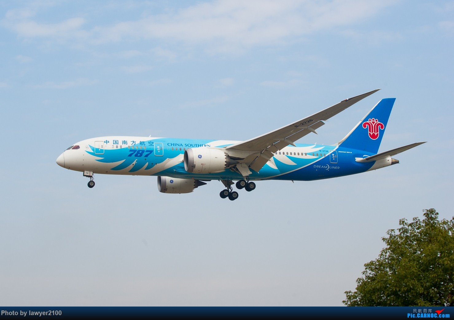 Re:[原创]HGH-----鸡年拍机收官战 BOEING 787-8 B-2726 中国杭州萧山国际机场