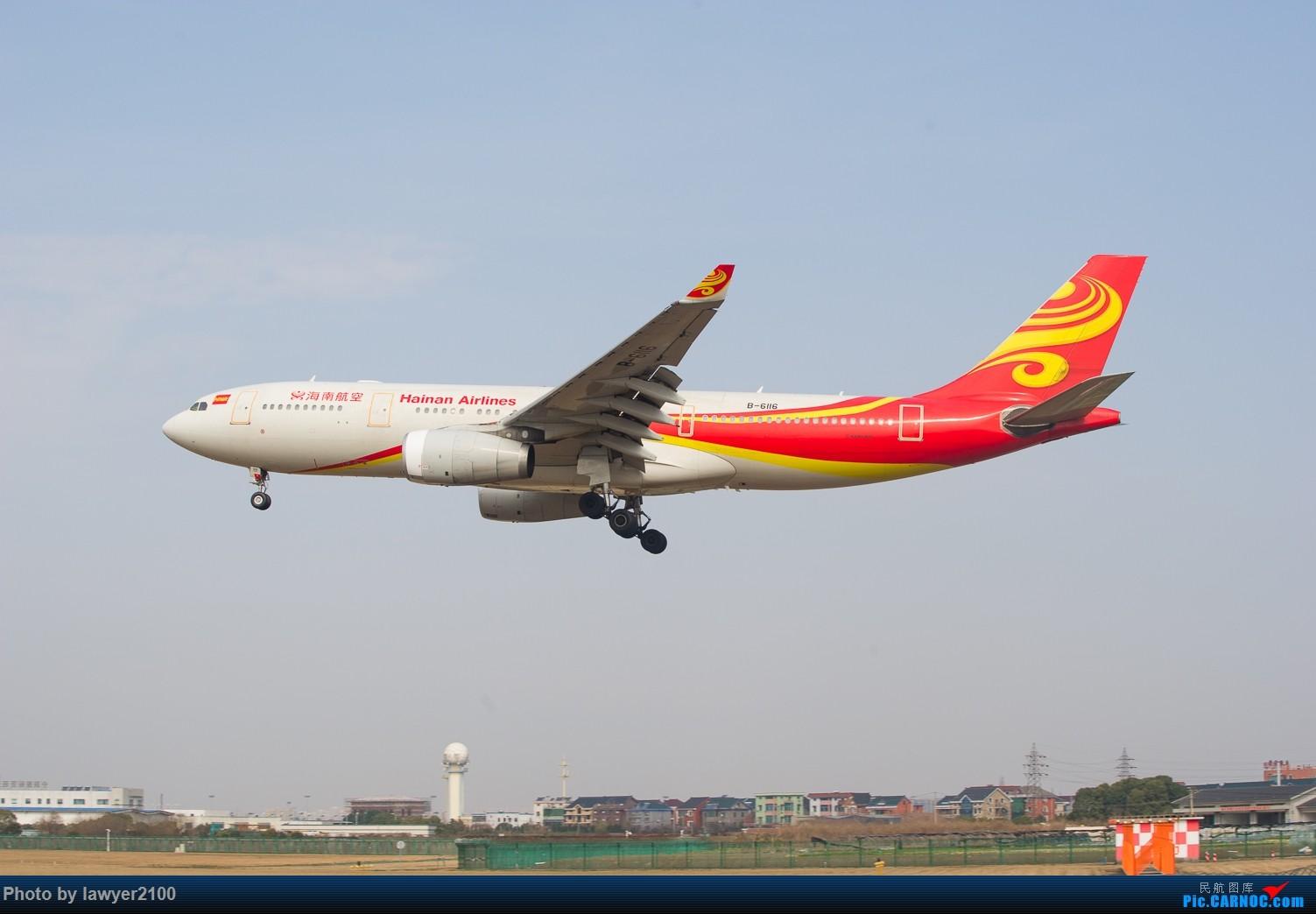 Re:[原创]HGH-----鸡年拍机收官战 AIRBUS A330-200 B-6116 中国杭州萧山国际机场