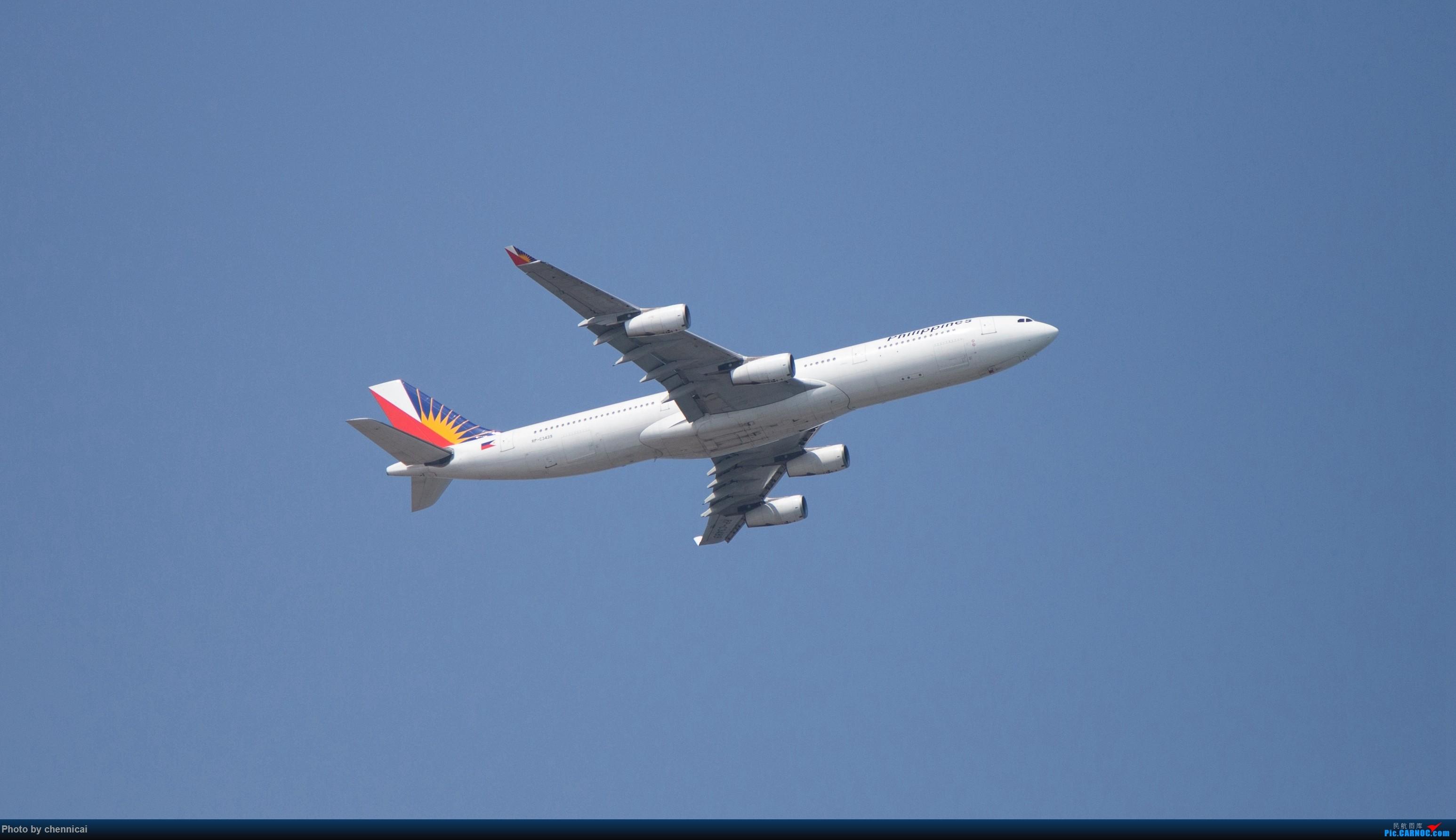 [原创]5APU降厦门 AIRBUS A340-300 RP-C3439 中国厦门高崎国际机场