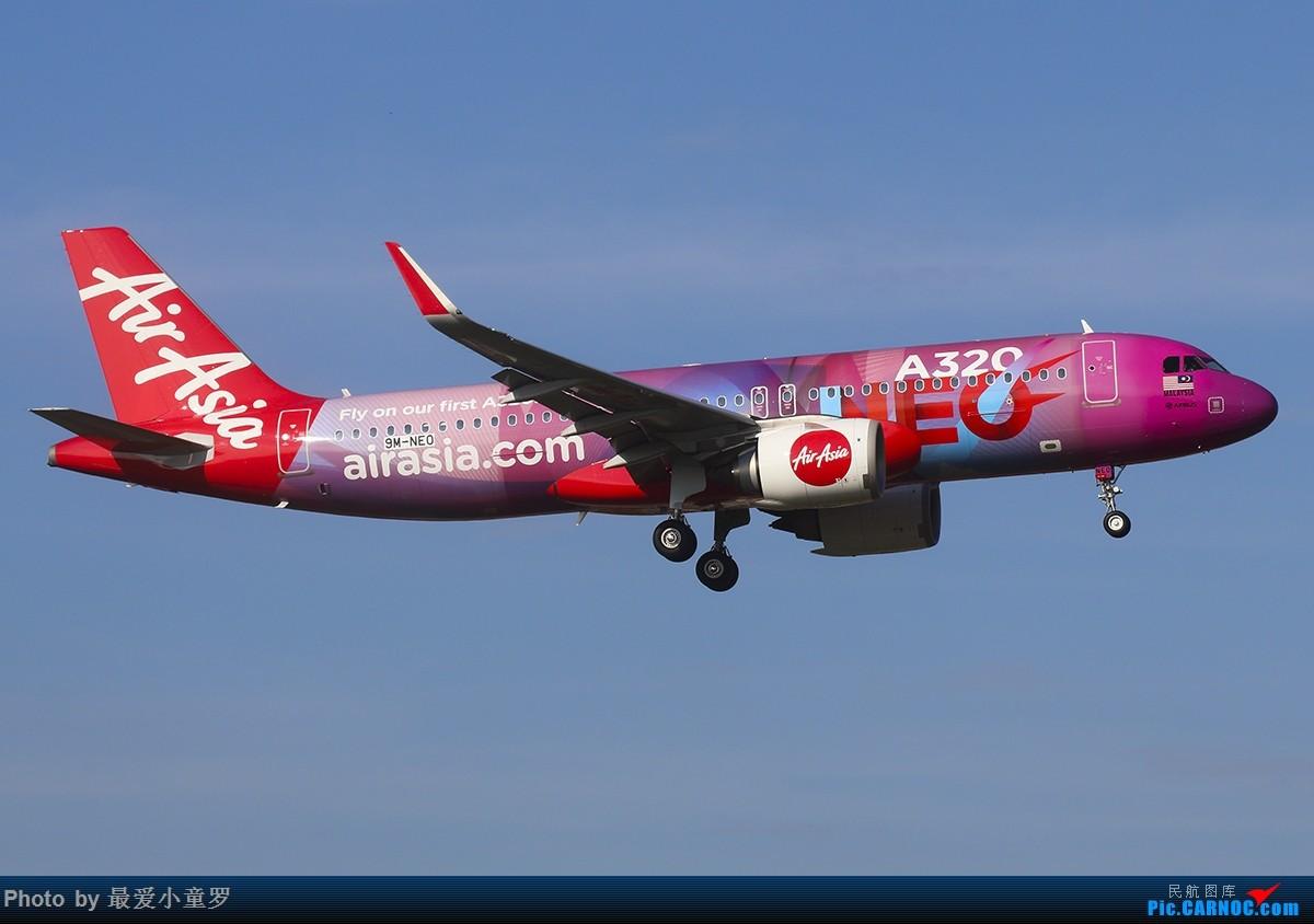Re:[原创]2018年——小童罗祝大家新春快乐 AIRBUS A320NEO 9M-NEO 中国广州白云国际机场