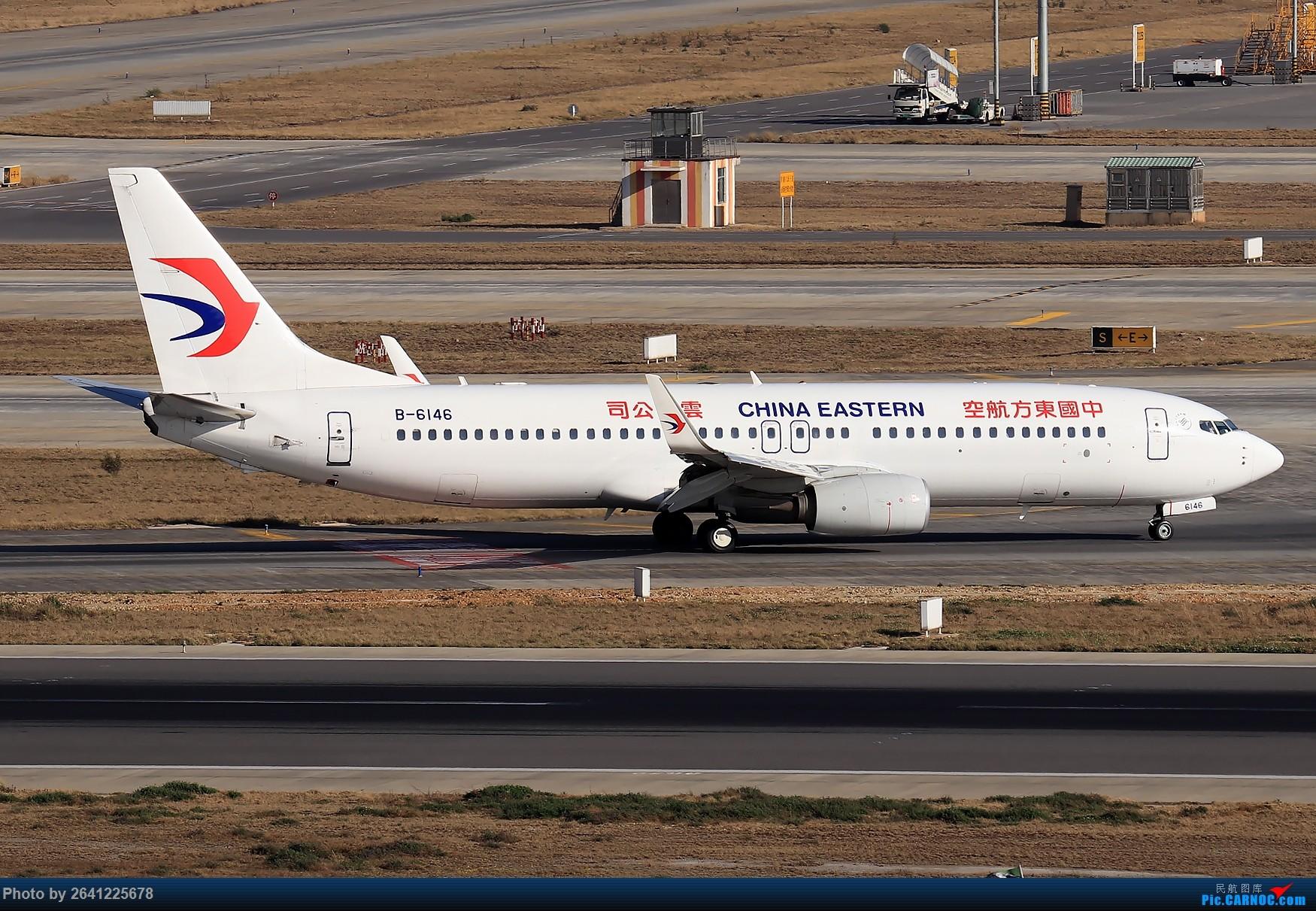 Re:[原创]【KMG】小周游记第6集拍机贴 BOEING 737-800 B-6146 中国昆明长水国际机场