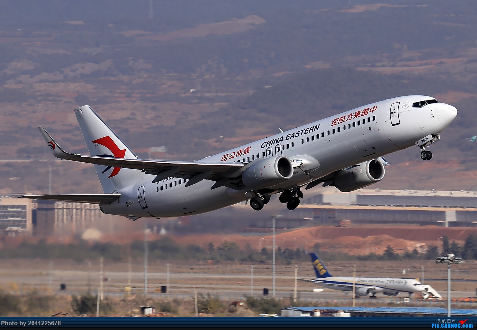 Re:[原创]【KMG】小周游记第6集拍机贴 BOEING 737-800 B-7600 中国昆明长水国际机场
