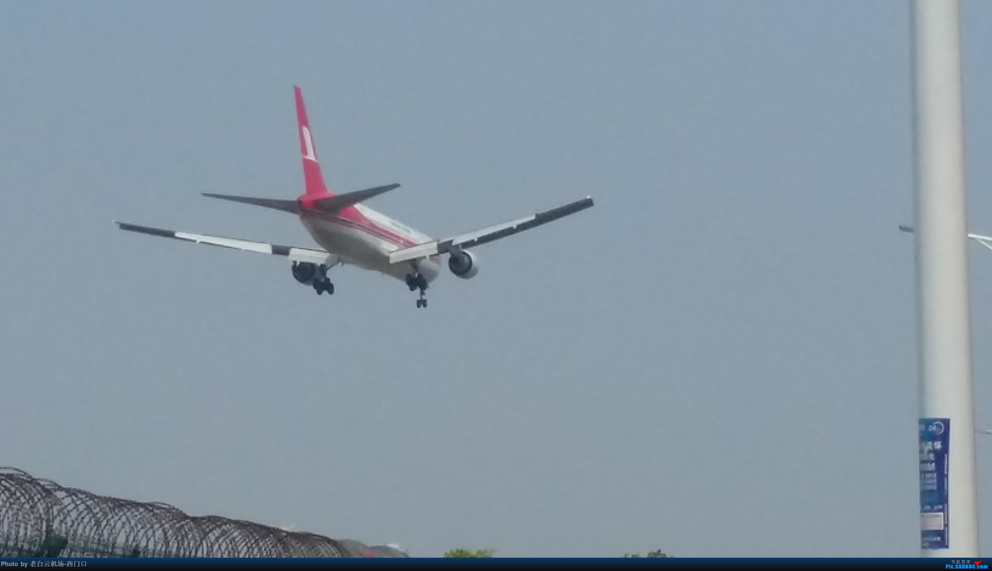 Re:[原创]我的拍飞机心情(广州) BOEING 767-300 B-2567 中国广州白云国际机场
