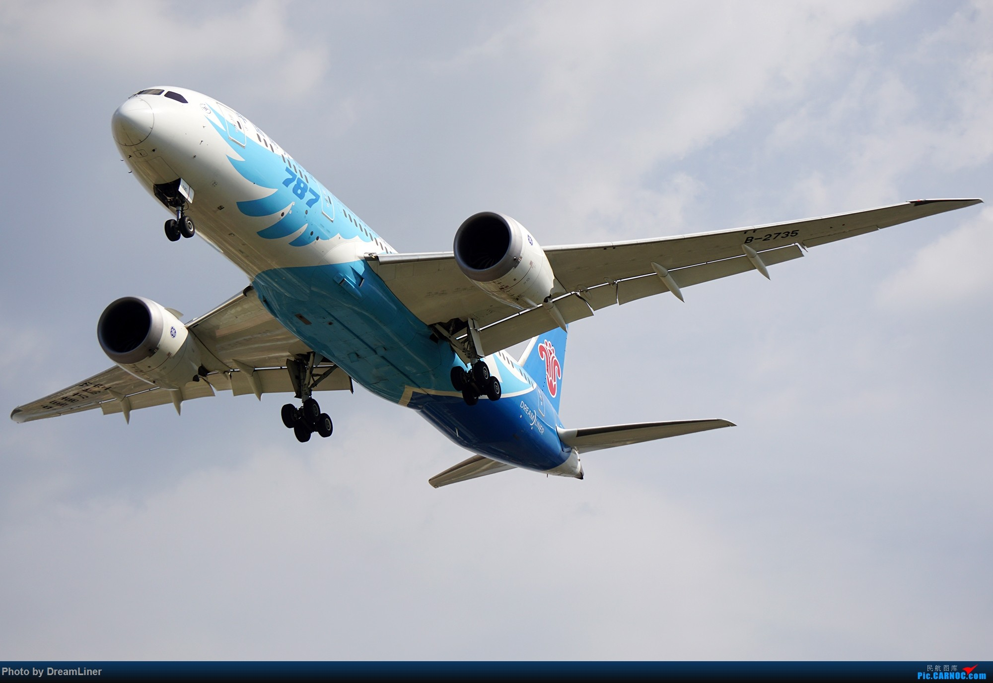 Re:[原创]17年暑假和今年寒假的ZGGG拍机成果 BOEING 787-8 B-2735 中国广州白云国际机场