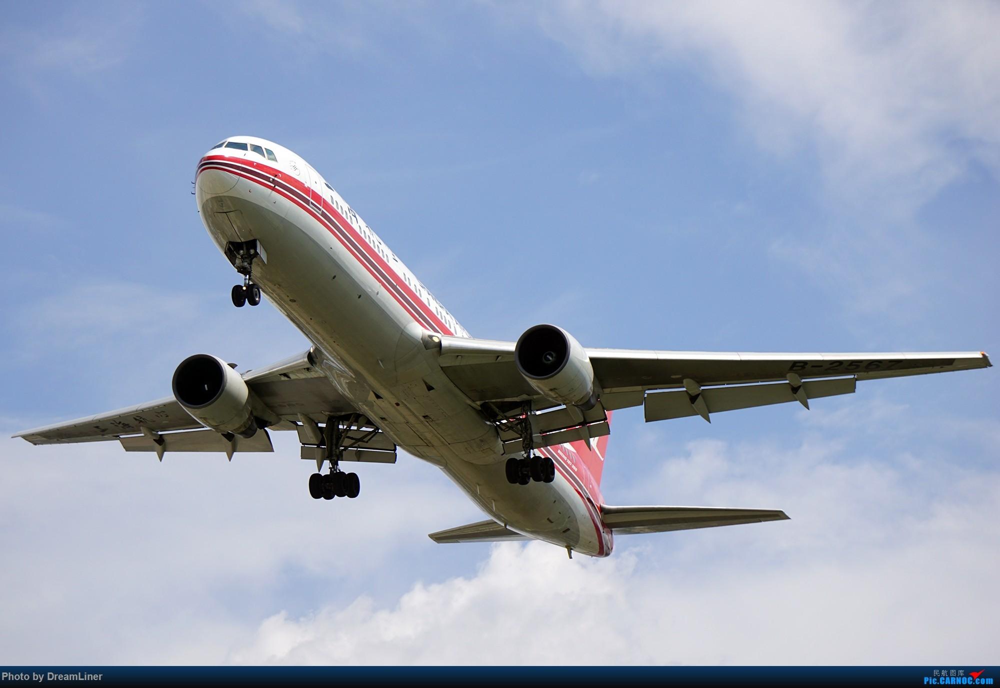 Re:[原创]17年暑假和今年寒假的ZGGG拍机成果 BOEING 767-300 B-2567 中国广州白云国际机场