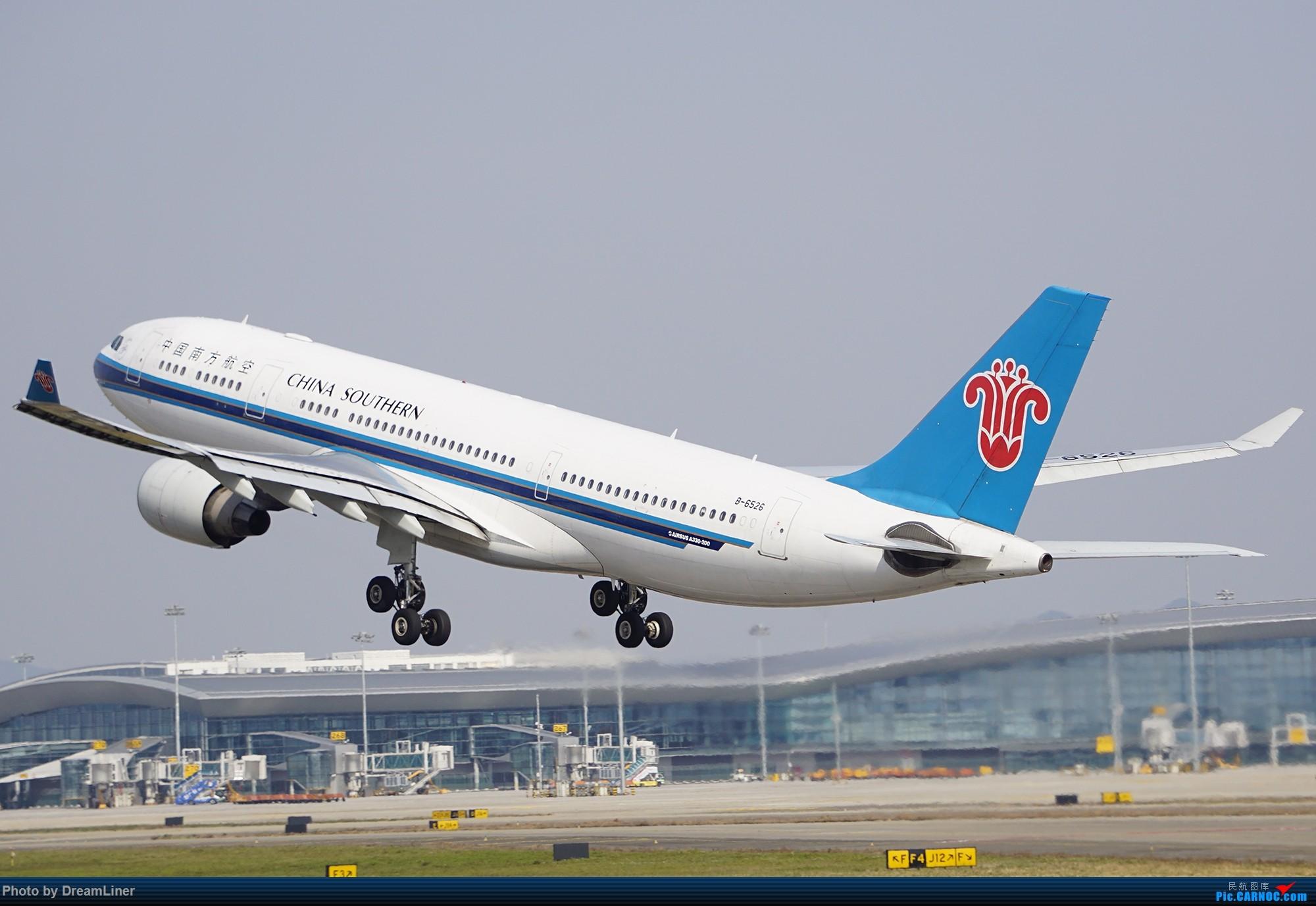 Re:[原创]17年暑假和今年寒假的ZGGG拍机成果 AIRBUS A330-200 B-6526 中国广州白云国际机场