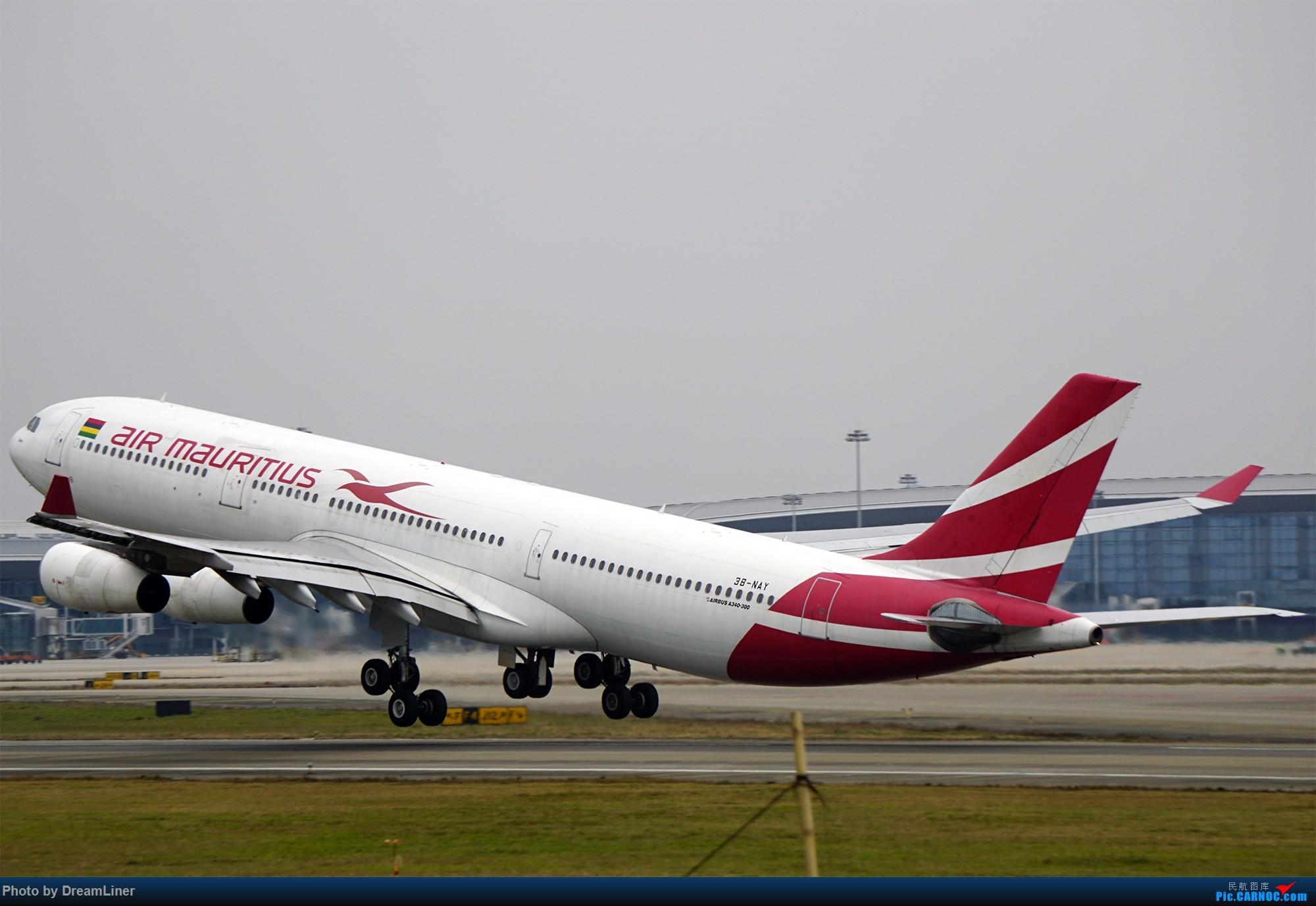 Re:[原创]17年暑假和今年寒假的ZGGG拍机成果 AIRBUS A340-300 3B-NAY 中国广州白云国际机场