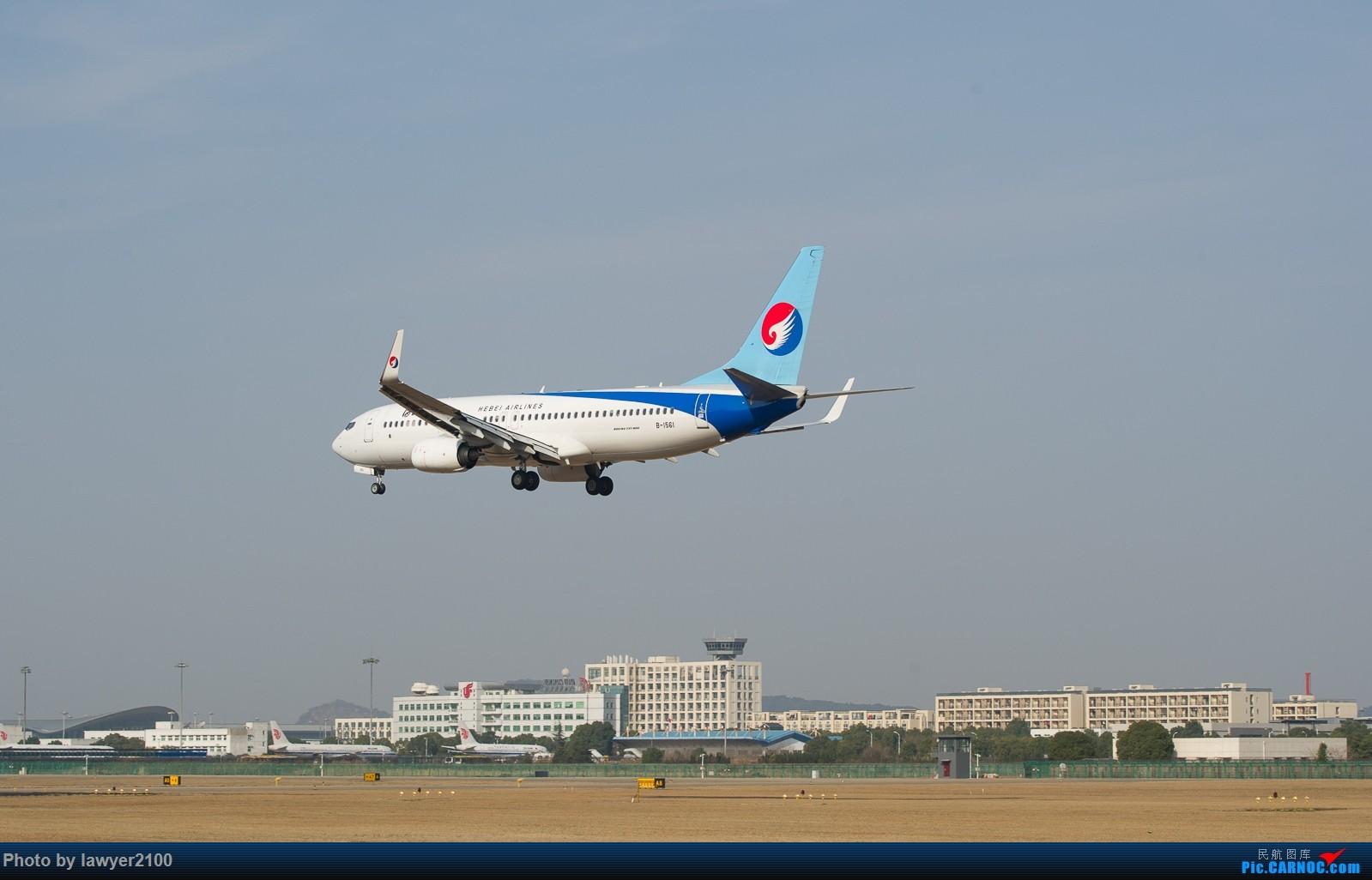 Re:[原创]HGH——背影套图 BOEING 737-800 B-1561 中国杭州萧山国际机场