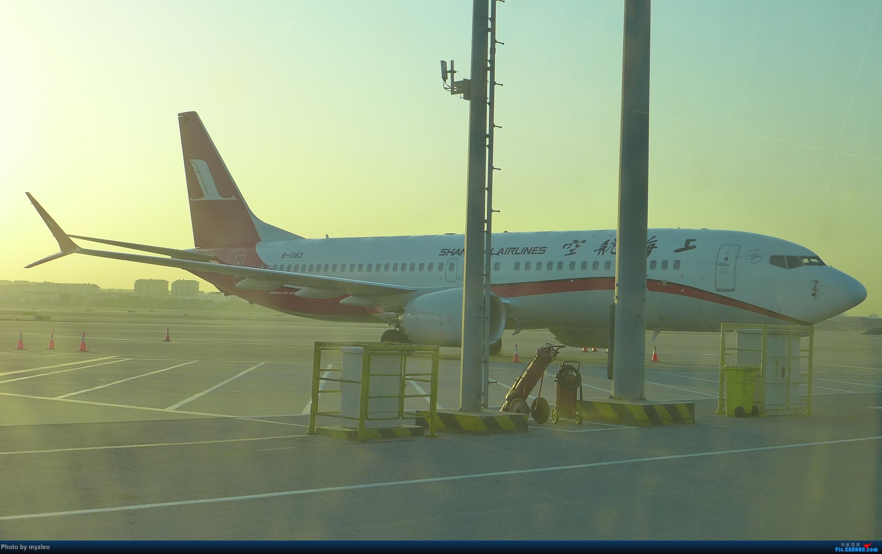 Re:[原创]【myzleo的游记1】六天五晚广州行——SHA-CAN上航商务舱初体验+广州城内 BOEING 737MAX-8 B-1382 中国上海虹桥国际机场