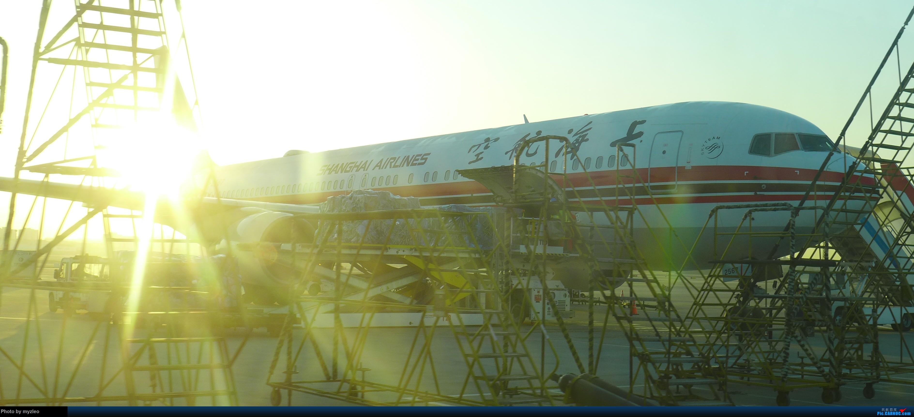 Re:[原创]【myzleo的游记1】六天五晚广州行——SHA-CAN上航商务舱初体验+广州城内 BOEING 767-300 B-2567 中国上海虹桥国际机场